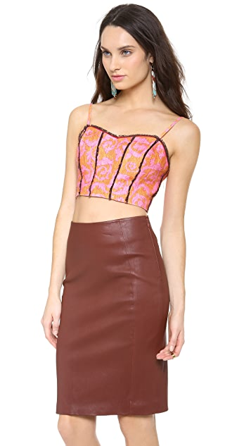 Elizabeth and James Candice Bustier Top