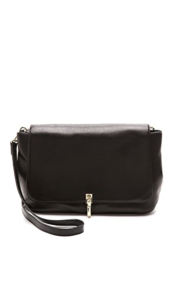 Elizabeth and James Leather Messenger Bag