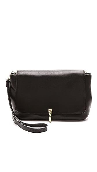 Elizabeth and James Leather Messenger Bag