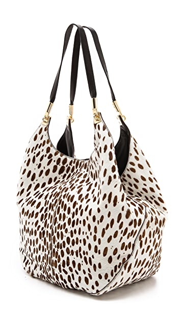 Elizabeth and James Printed Haircalf Shopper