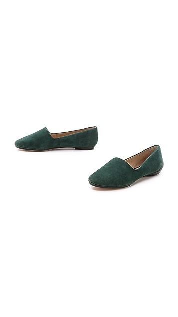 Elizabeth and James Felix Suede Flat Loafers