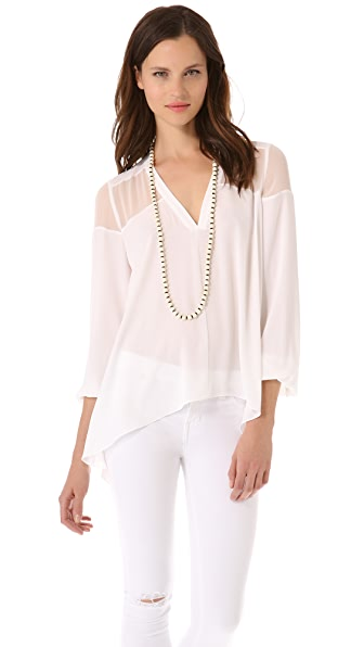 Elizabeth and James Karin Blouse