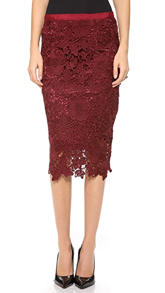 Elizabeth and James Garrett Lace Skirt