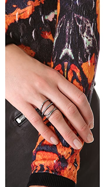 Elizabeth and James Berlin Elongated Ring