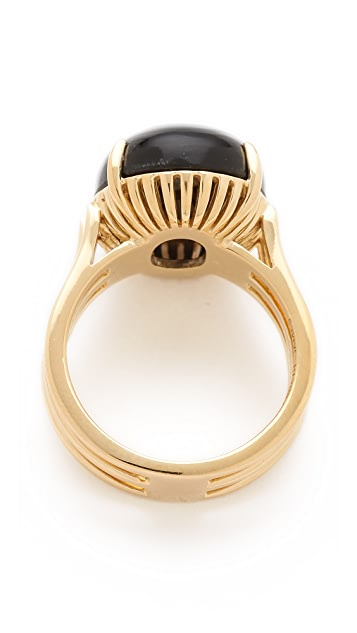 Elizabeth and James Berlin Oval Cabochon Ring