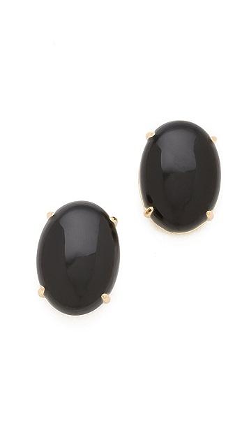 Elizabeth and James Berlin Oval Cabochon Stud Earrings