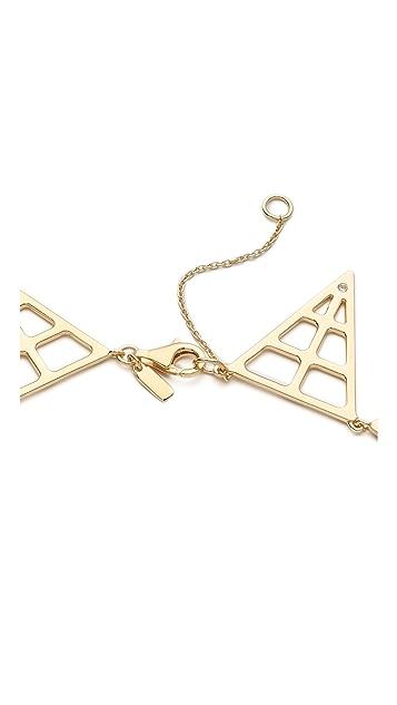 Elizabeth and James Berlin Pyramid Statement Necklace