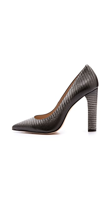 Elizabeth and James Vino Embossed Pumps
