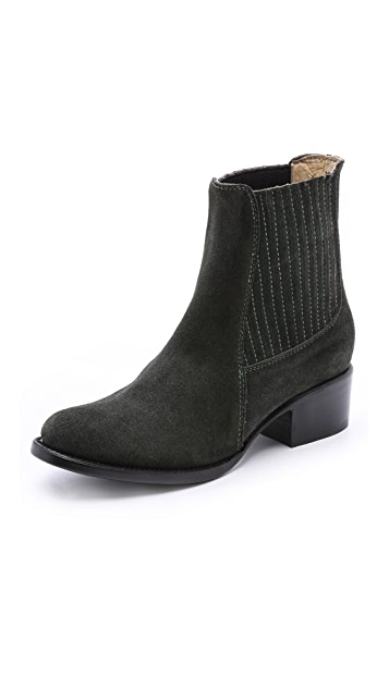 Elizabeth and James April Suede Chelsea Booties