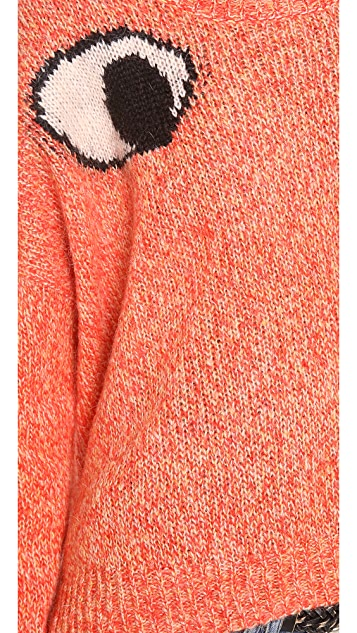 Elizabeth and James Googly Eyes Sweater