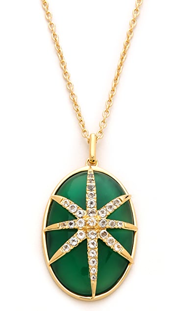 Elizabeth and James Northern Star Cabochon Necklace
