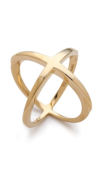 Elizabeth and James Northern Star Crossed Band Ring
