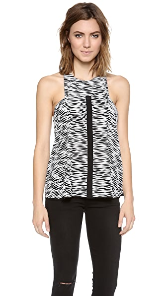 Elizabeth and James Evie Squiggle Stripe Top