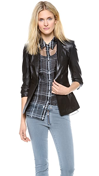 Elizabeth and James Leather James Blazer