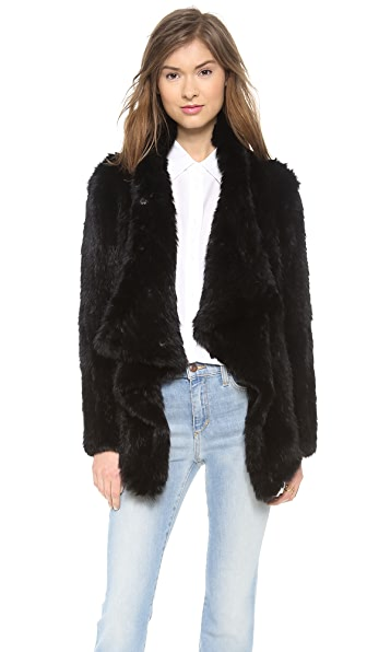 Elizabeth and James Elijah Fur Jacket