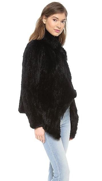 Elizabeth and James Elijah Fur Jacket