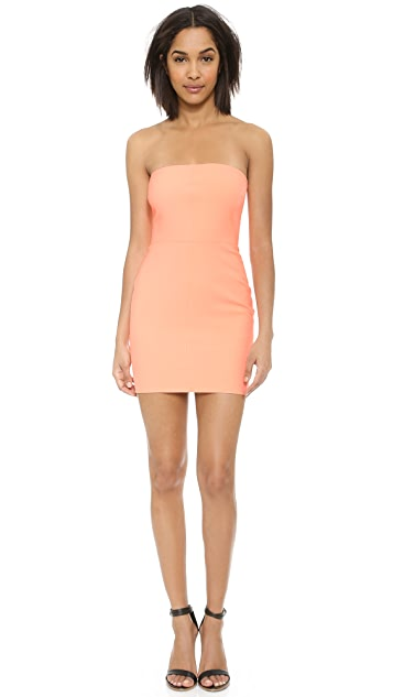 Elizabeth and James Rania Strapless Dress