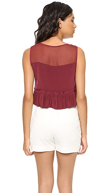 Elizabeth and James Keaton Cropped Top