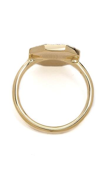 Elizabeth and James Divi Pave Ring