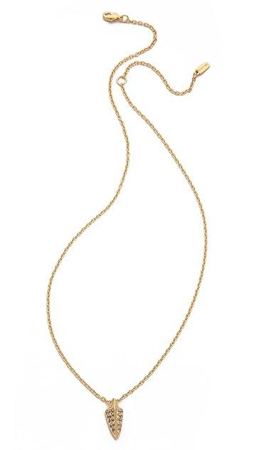 Elizabeth and James Bauhaus Spike Pendant Necklace