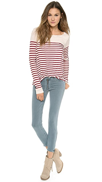 Elizabeth and James Long Sleeve Kim Top