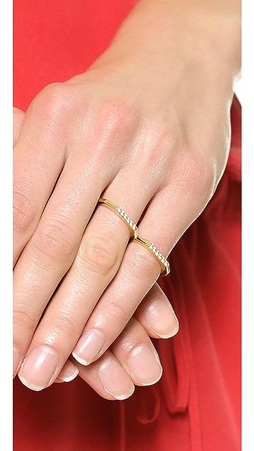 Elizabeth and James Two Finger Artic Ring
