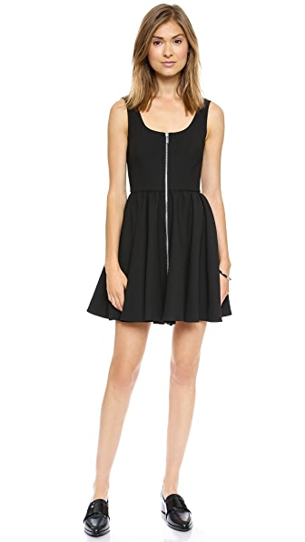 Elizabeth and James Cambelle Zip Front Dress