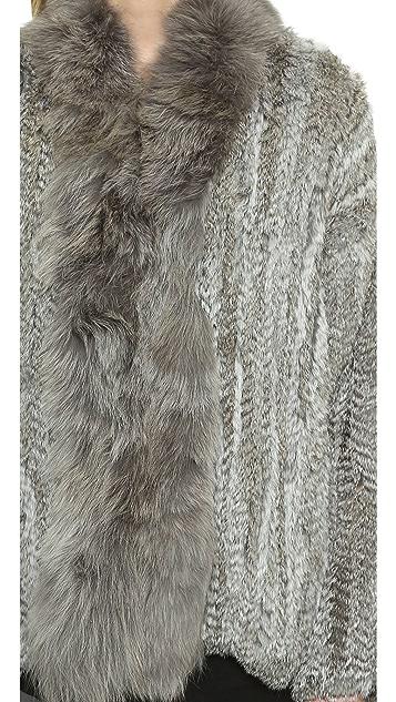 Elizabeth and James Bianca Fur Coat