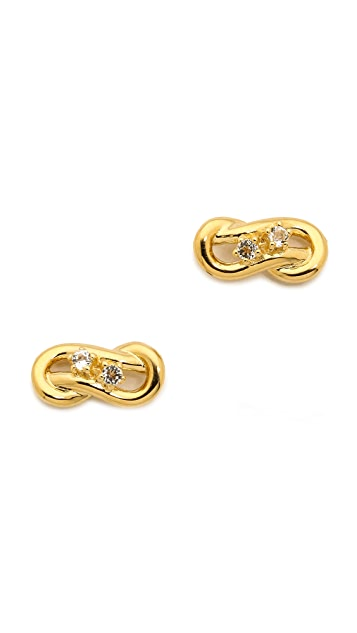 Elizabeth and James Catalan Stud Earrings