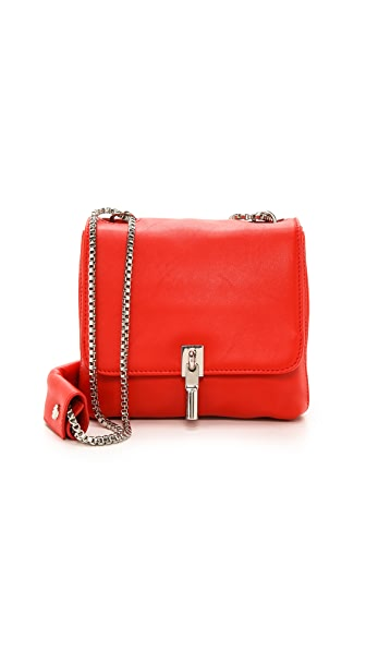 Elizabeth and James Cynnie Mini Double Chain Shoulder Bag
