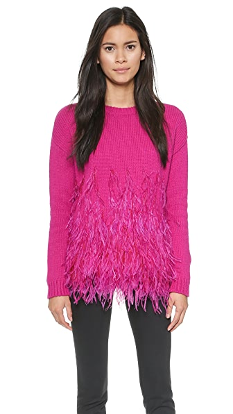 Elizabeth and James Feather Pullover