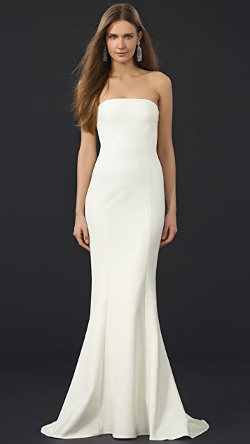 Elizabeth and James Kendra Gown