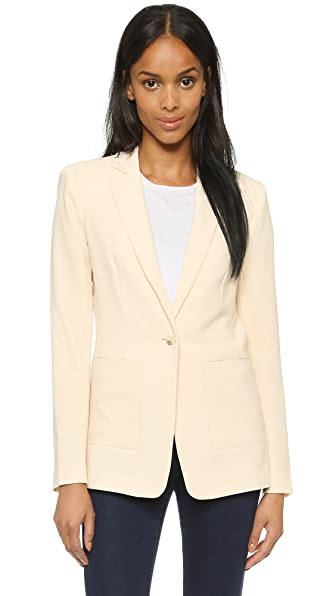 Elizabeth and James Crepe Jarough Blazer
