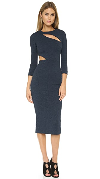 Elizabeth And James Virginia Dress - Navy