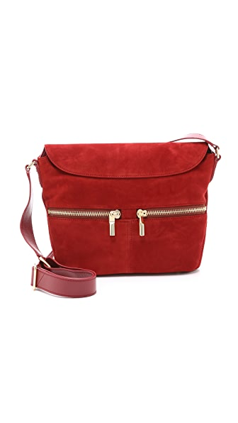Elizabeth And James James Small Cross Body Bag - Adzuki Bean