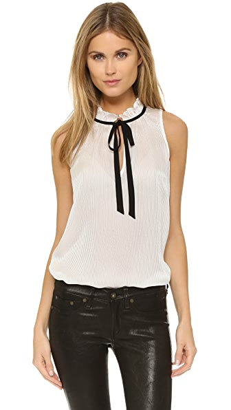 Elizabeth and James Shadow Stripe Katrina Top