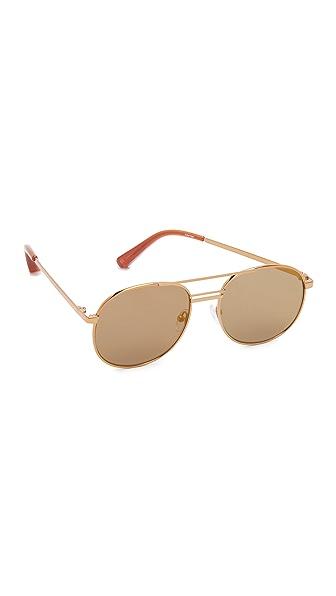 Elizabeth and James Солнцезащитные очки Watts с плоскими линзами