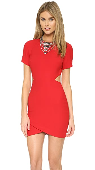 Elizabeth And James Skylyn Dress - Red