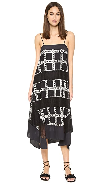 Elizabeth and James Finnegan Patchwork Lace Dress