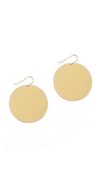 Elizabeth and James Serra Earrings In Gold