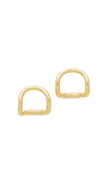Elizabeth and James Moore Stud Earrings