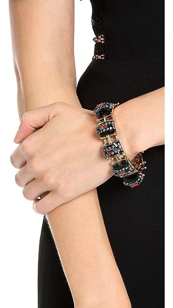 Elizabeth Cole 5 Station Cuff Bracelet