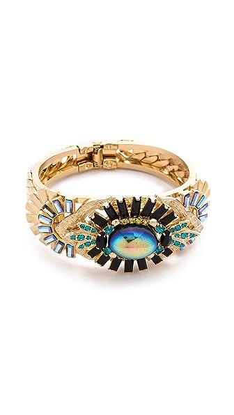 Elizabeth Cole Crystal Hinge Bracelet