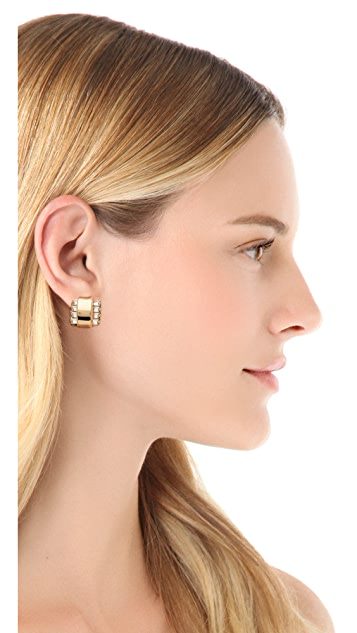 Elizabeth Cole Bitty Bank Earrings