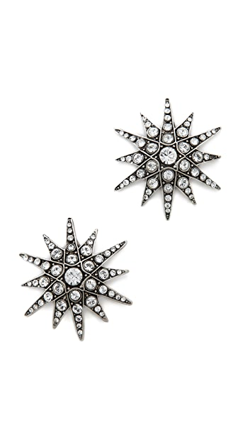 Elizabeth Cole Starburst Earrings