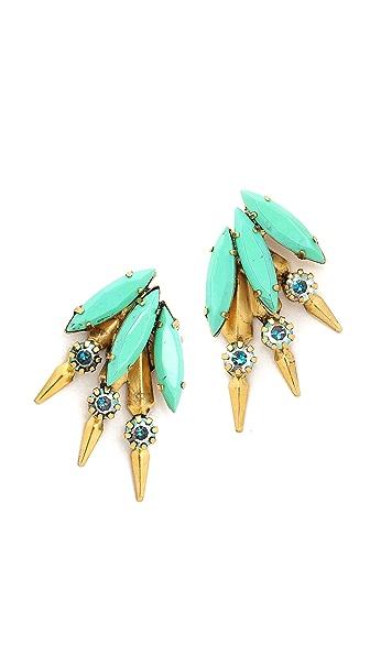 Elizabeth Cole Hogan Earrings