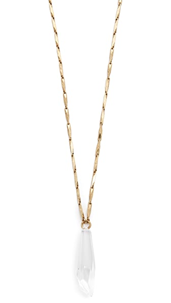 Elizabeth Cole Layering Pendant Necklace
