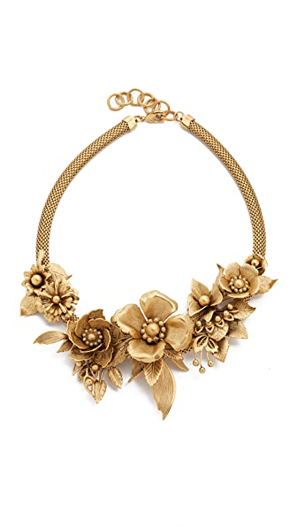 Elizabeth Cole Embellished Necklace