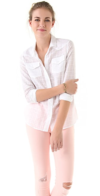 Elkin Mattie Button Down Blouse