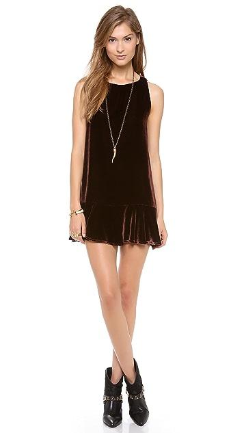 Elkin Basset Velvet Dress